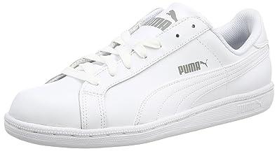 puma smash blanche