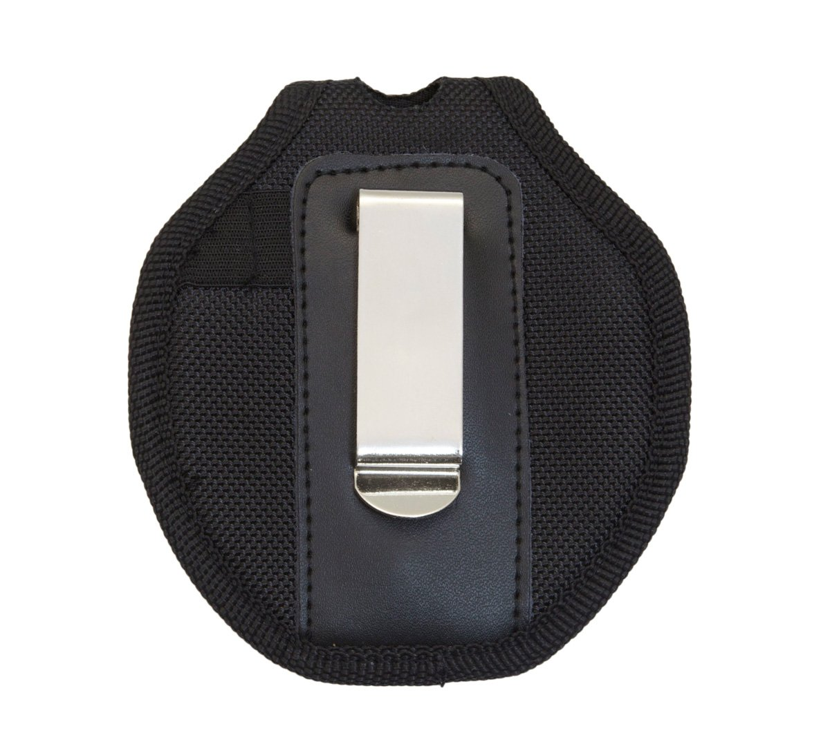 UZI UZI-CUFFCASE Nylon Reinforced Handcuff Case with Metal Pocket Clip and Key Holder, Black by CampCo