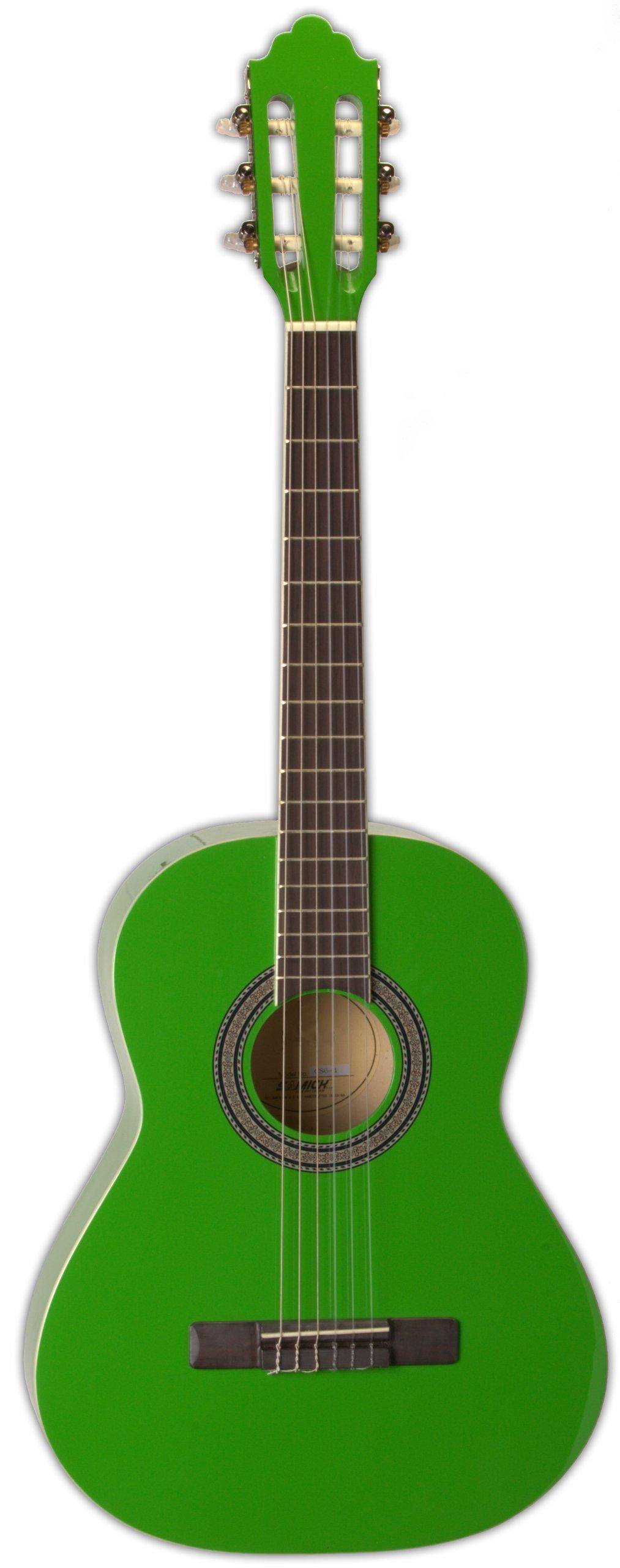 San Mateo San Mateo SCS6 GRN 36-Inch Classical Guitar, Green by San Mateo