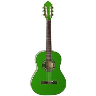 San Mateo San Mateo SCS6 GRN 36-Inch Classical Guitar, Green
