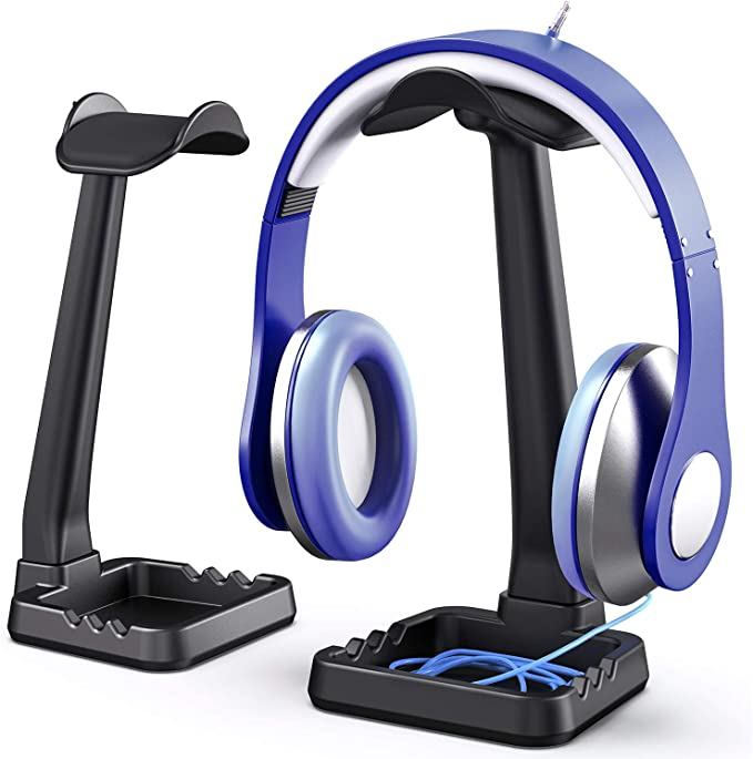 1pc Headset Headphone Headset Monitor Stand Soporte Auriculares plug-in