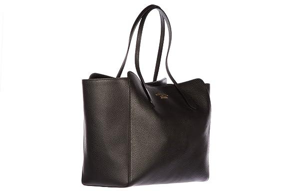 2beee63a220136 Amazon.com: Gucci women's leather shoulder bag original swing black: Shoes