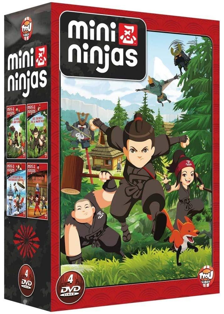 Mini Ninjas - Coffret 4 DVD [Italia]: Amazon.es: Jean Duval ...