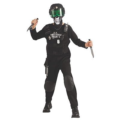 Rubie's Black Team 6 Kids Costume: Toys & Games