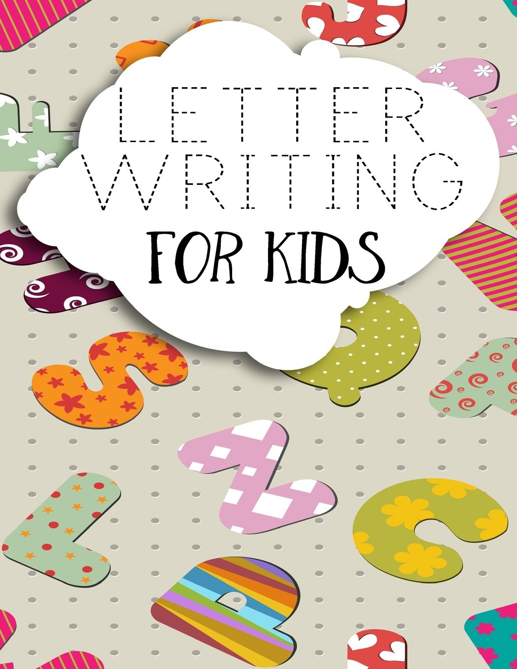 """Letter Writing For Kids: Letter Tracing Practice Book For Preschoolers, Kindergarten (Printing For Kids Ages 3-5)(5/8"""" Lines, Dashed) PDF"""