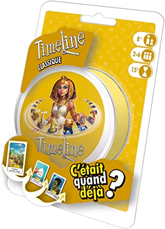 Asmodee Timeline Classic Learning Card Game - Juegos de Cartas (8 año(s), Learning Card Game, Niños, 14 min, 55 Pieza(s)): Amazon.es: Juguetes y juegos