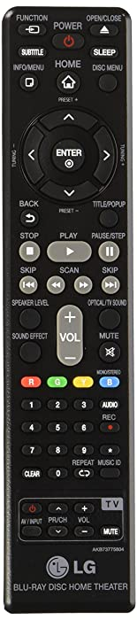 LG AKB73775804 Remote Controller Assembly