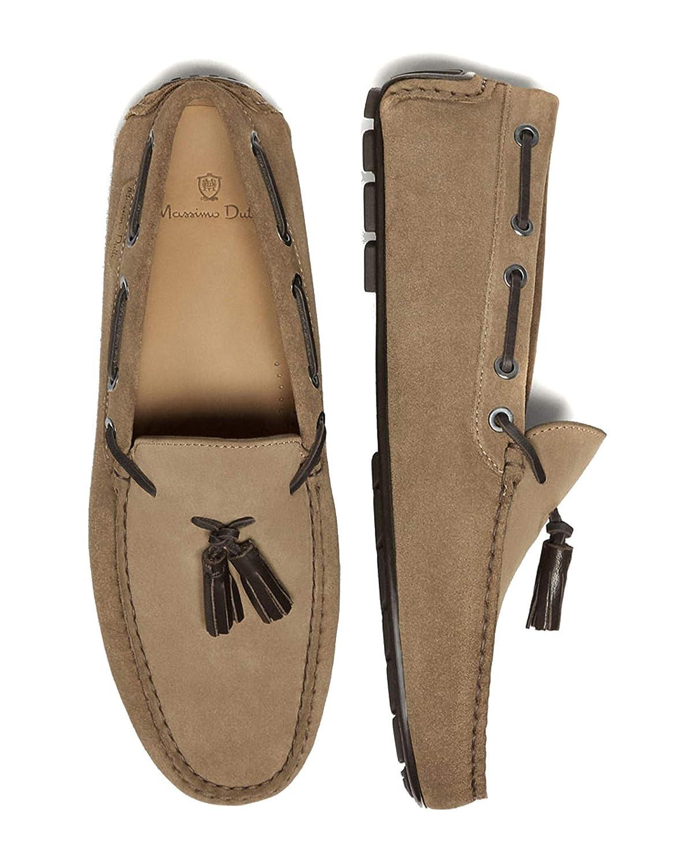 Massimo Dutti - Mocasines para Hombre Marrón marrón, Color Marrón, Talla 40 EU: Amazon.es: Zapatos y complementos