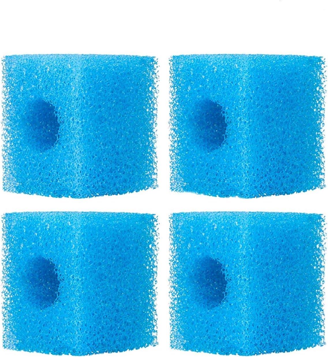 NO.17 Spugna Filtro per Acquario, confezione da 4 di bio-schiume per filtro interno da 500L/H 800L/H