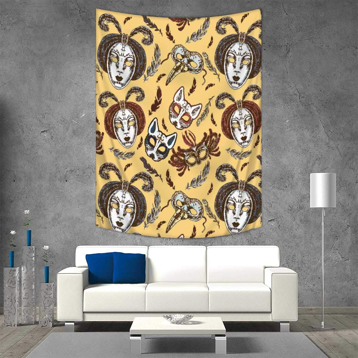 Amazoncom Matthew Wall Hanging Tapestries Font Design Inspired Hip