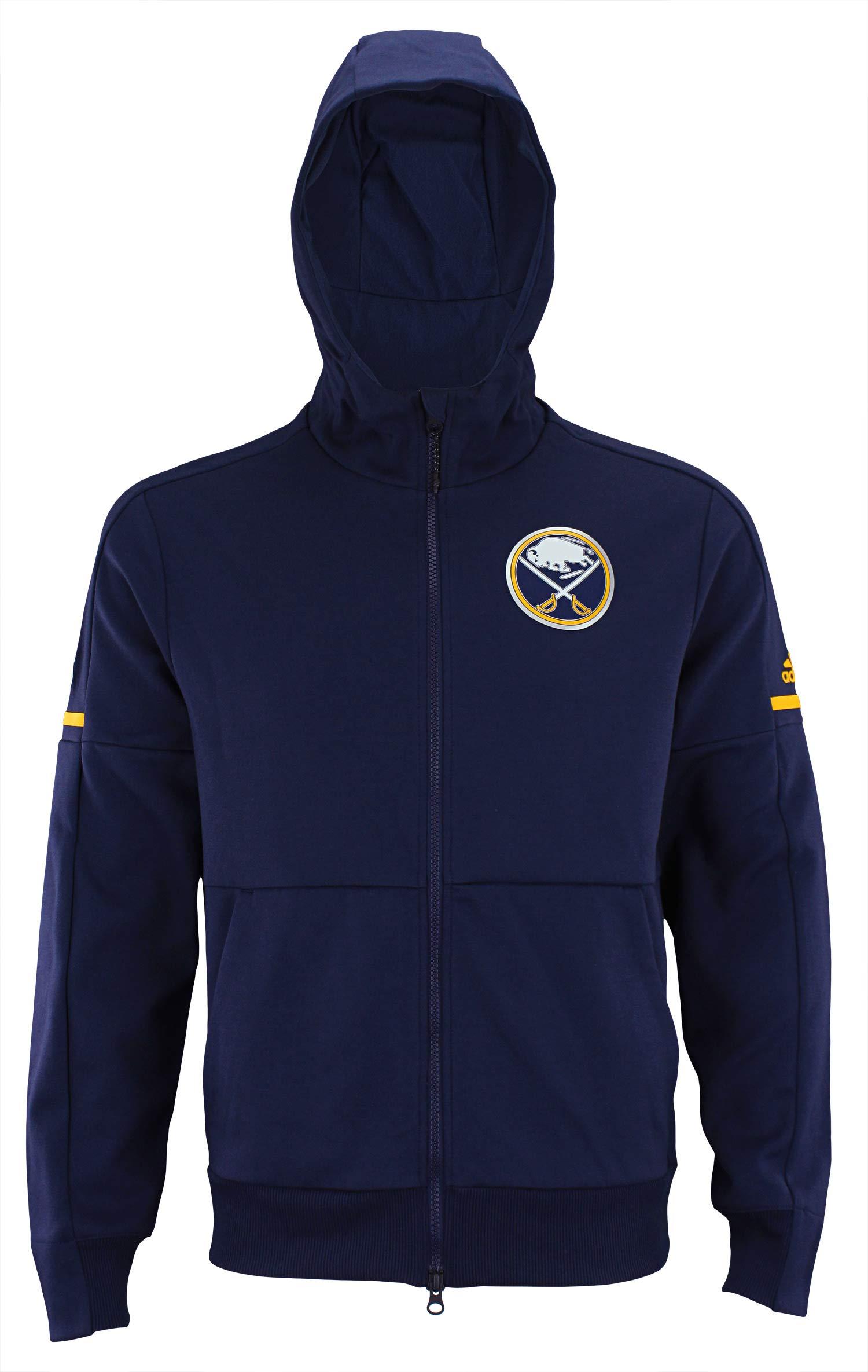 adidas NHL Center ICE Finished ZNE Jacket Sabre T NVY ZNE/NHL Sabres Size S