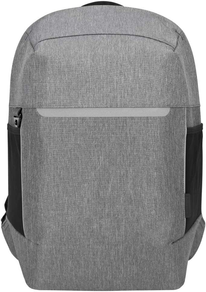 Targus CityLite Pro Modern Security Backpack for 12-Inch to 15.6-Inch Laptop, Grey (TSB938GL)