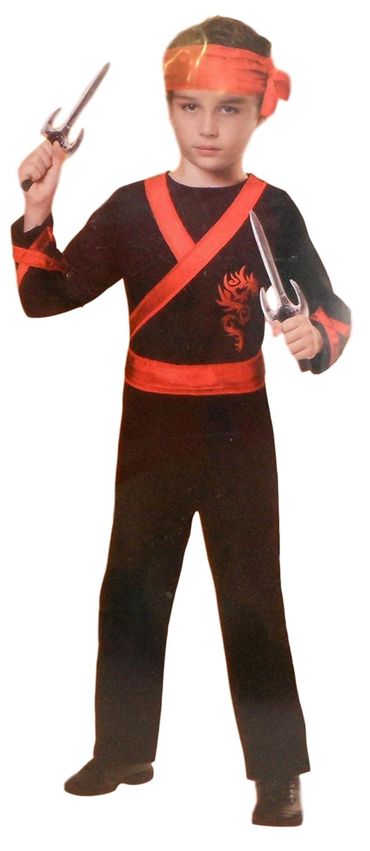 Amazon.com: Spooky Village Ninja Include Jumpsuit Bandana ...