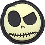 MAC Big Nightmare Rubber Patch Glow In The Dark Smiley Face Airsoft Patch