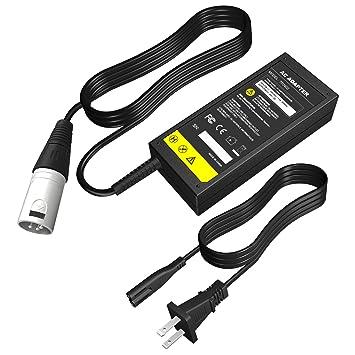 Amazon.com: Cargador de batería para scooter Jazzy Power ...