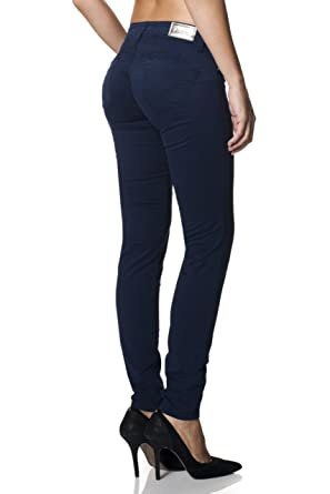 0c1c3dcae0419 SALSA Skinny Push-Up Wonder jegging in twill.: Amazon.co.uk: Clothing