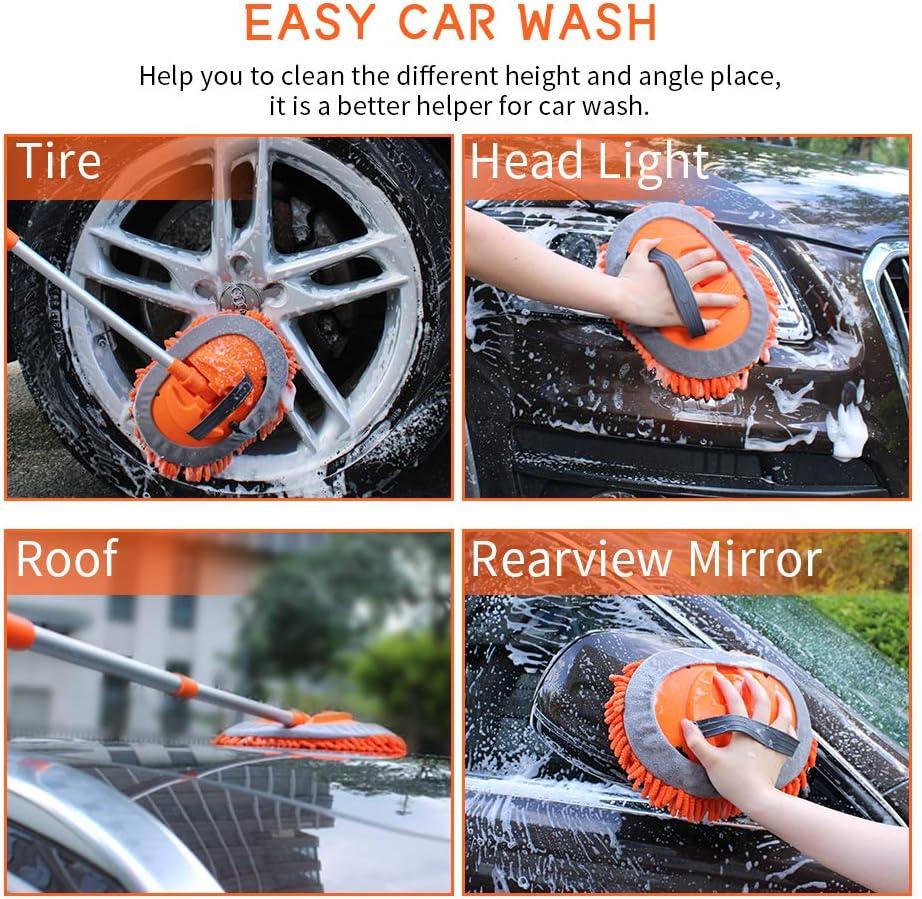 microfiber car wash brush