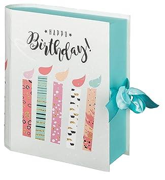 Idena 30206 Happy Birthday - Caja de Regalo para cumpleaños ...