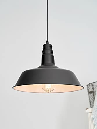 LightLady Studio Farmhouse Lighting Barn Pendant Light - Hanging light fixtures for kitchen island