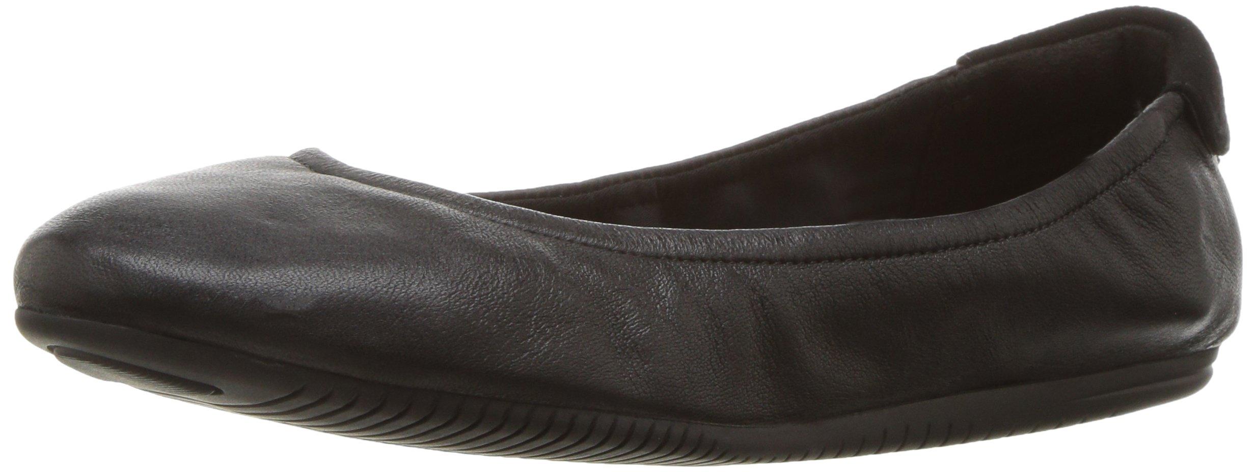 Cole Haan Studiogrand Convertible Ballet Flat,Black Leather,8.5 B US