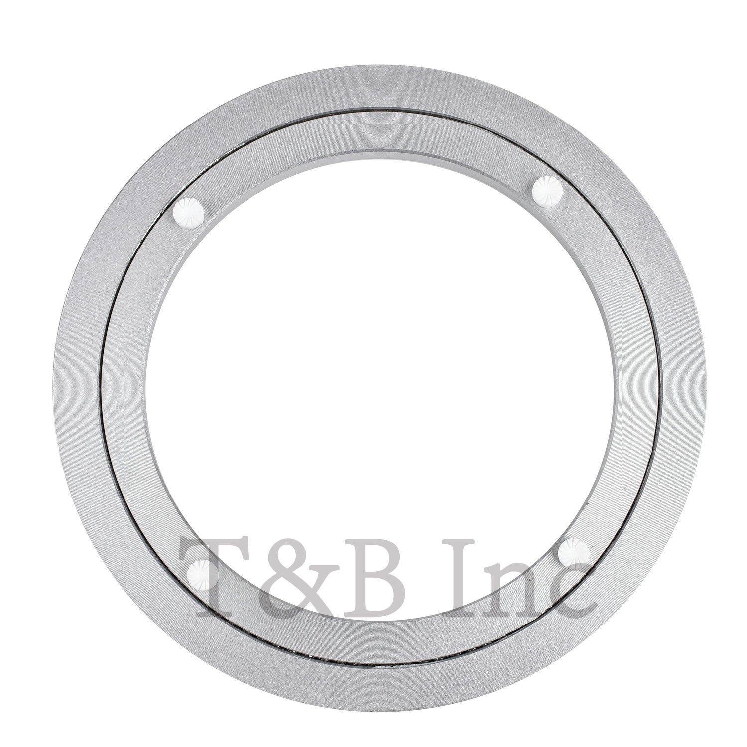 200mm Lazy Susan 8 Inch Aluminum Bearing Metal Rotating Turntable Bearings Swivel Plate Hardware For Dining-table