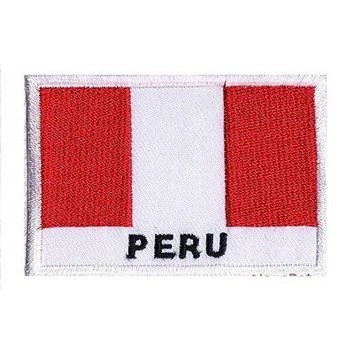 NagaPatches Patche drapeau Pérou
