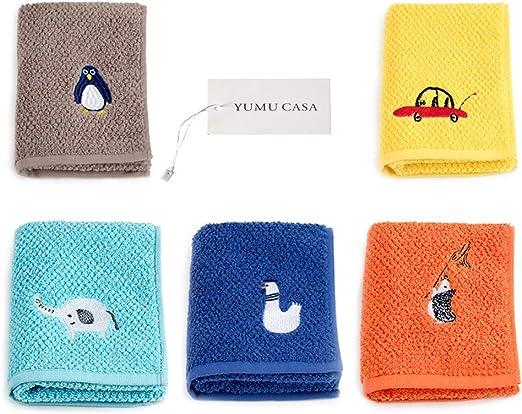 YUMU CASA - Juego de toallas de algodón suave absorbente para ...