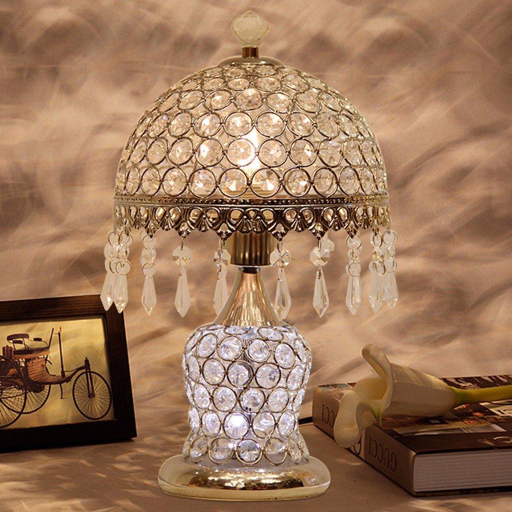 Lampara Qmpzg LampCrystal Dormitorio Mesa De Creativo 8wOPXnNk0