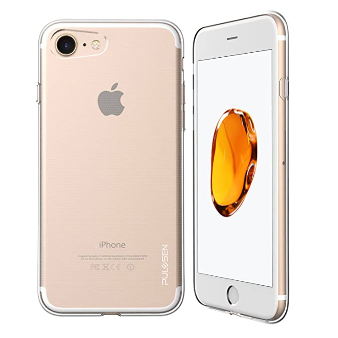 9 opinioni per iPhone 7 Cassa, PULESEN® iphone 7 Custodia Cover [Cristallo Trasparente] Ultra