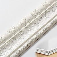 Zelfklevende zachte plint | Zelfklevend frame van PE-schuim | 3D waterdicht decoratief wandpaneel | Kan worden gebruikt…