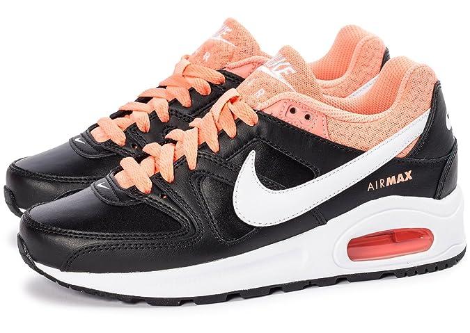 factory authentic 3b031 b6776 Nike - Air Max Command Flex LTR - 844355016 - Color: Black-Orange-White -  Size: 6.0: Amazon.ca: Shoes & Handbags