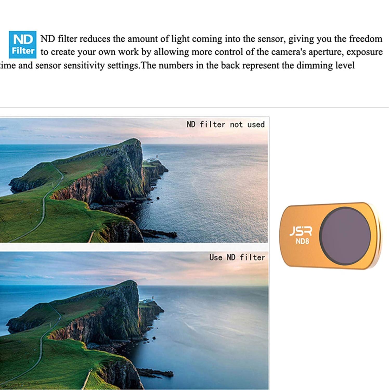 SHEAWA Filtre de Protection UV polaris/é ND pour Drone DJI Mavic Mini