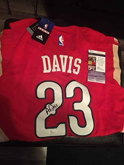 buy popular 4da3d b2e6e Anthony Davis New Orleans Pelicans Autographed Signed ...