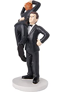 Amazon Com Meijiafei Script Mr And Mr Gay Wedding Cake Topper
