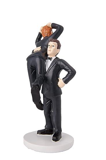 Denapa Gay Wedding Cake Topper