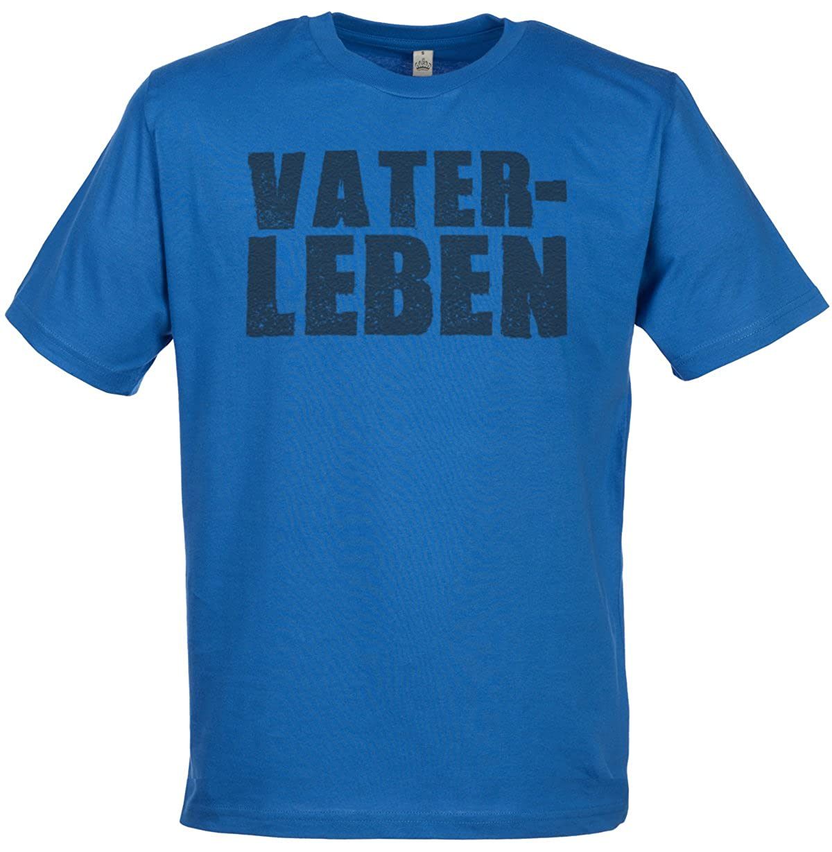 SR - Vater-Leben Men\'s Crew Neck T-Shirt - Gift for Dad - Fathers ...