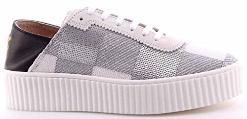 2b7f8c1ccd3 Women's Shoes Sneakers PINKO Shine Baby Ungherse Paillettes Bianco ...