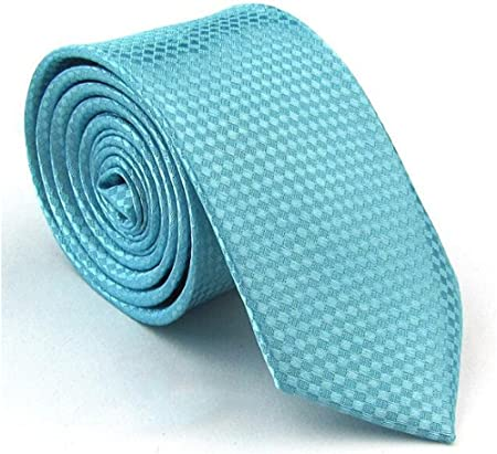 Mens Neck Tie Everyday Fashion Office Party Wedding Necktie BLUE GREY MUSTARD