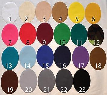 1,54 EUR//Stück 3 Bügelflicken 14,5x10,6 cm 24 Farben zur Auswahl