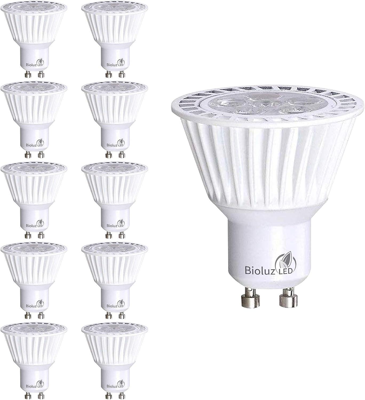 3000K Warm White 320lm 50W Halogen Bulbs Equivalent 120/° Beam Angle AC 220-240V Energy Class A+ BIG HOUSE GU10 LED Light Bulbs 4W Pack of 6
