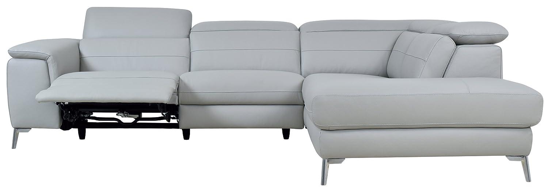 Amazon.com: Homelegance Cinque sofá seccional con lado ...