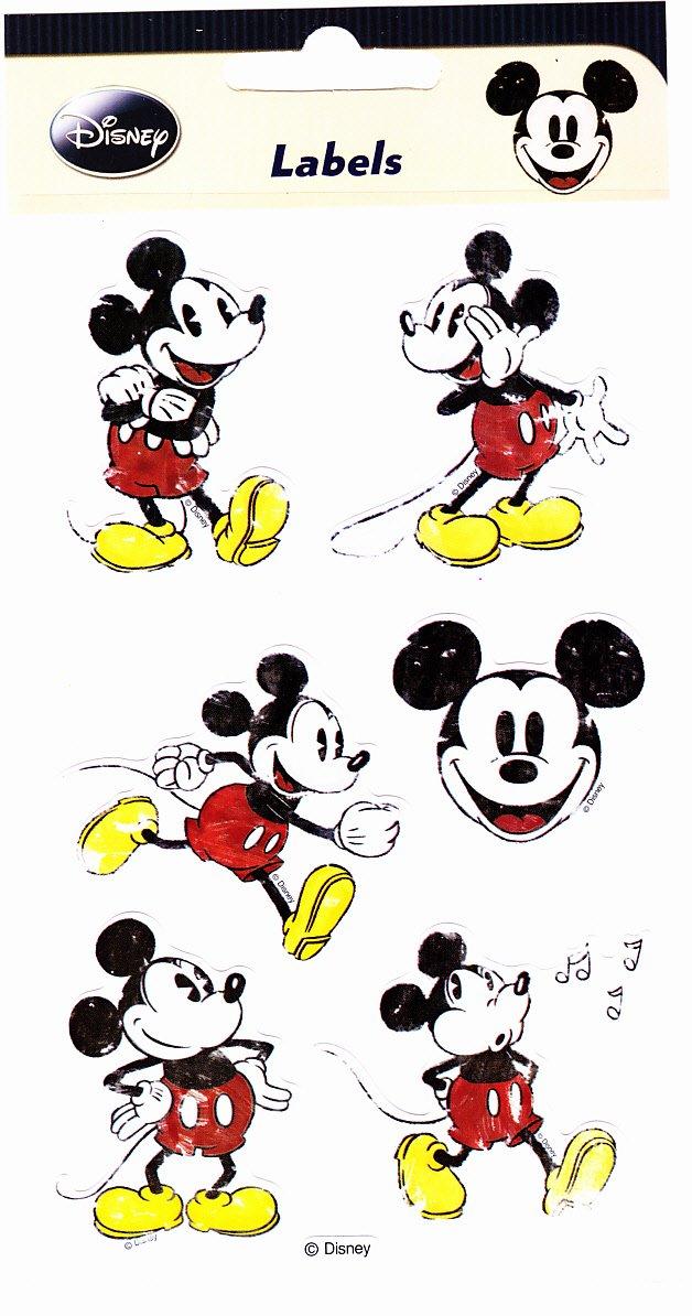 Disney Micky Maus Sticker Nostalgie Micky H&B