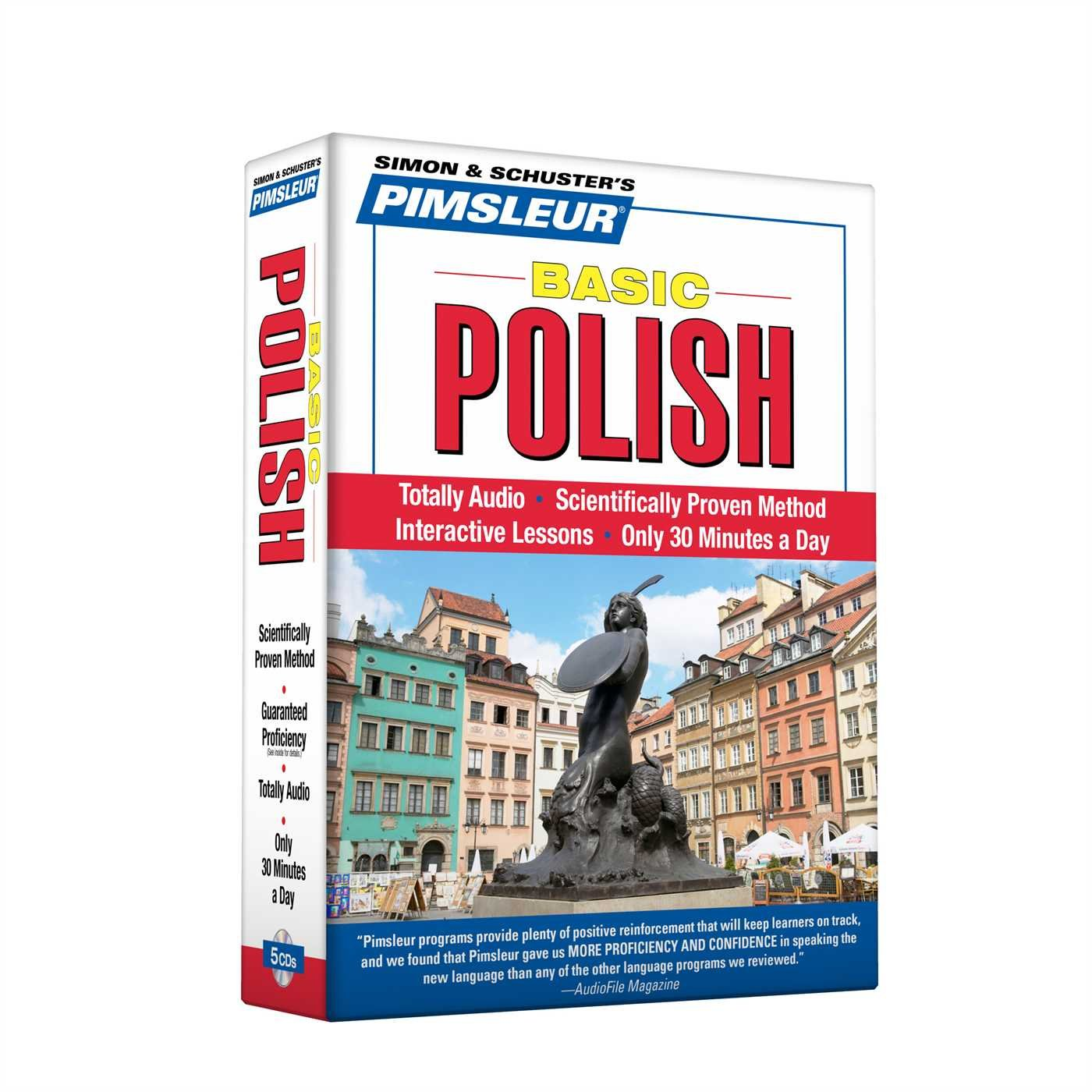 Pimsleur Polish Basic Course - Level 1 Lessons 1-10 CD: Learn to Speak and Understand Polish with Pimsleur Language Programs by Not Available (NA)