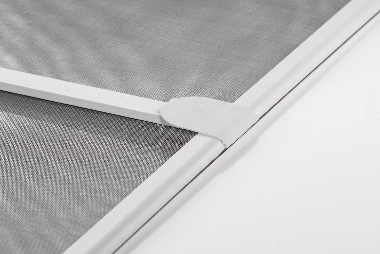 Insektenschutz Fliegengitter Tür Alurahmen START in weiß, braun oder ...