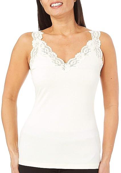 90f60e183 Amazon.com  Bay Studio Intimates Microfiber V-Neck Camisole  Clothing