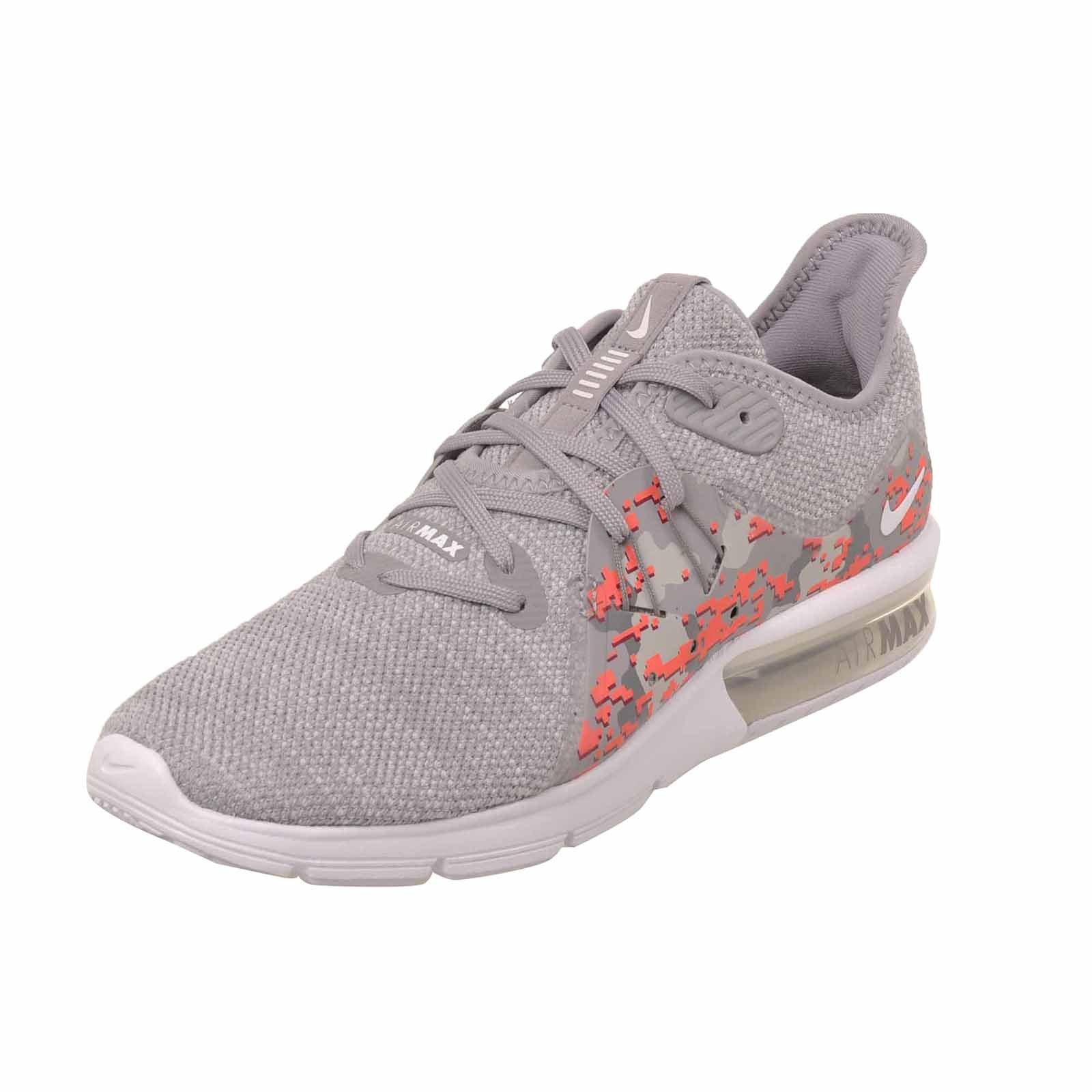 best website d0226 2824b Galleon - Nike Women s Air Max Sequent 3 C Running Shoes-White Vast Grey-9.5