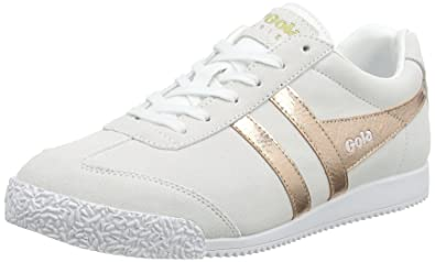 0c40b8004e0ecc Gola Damen Harrier Mirror Sneaker beige  Amazon.de  Schuhe   Handtaschen