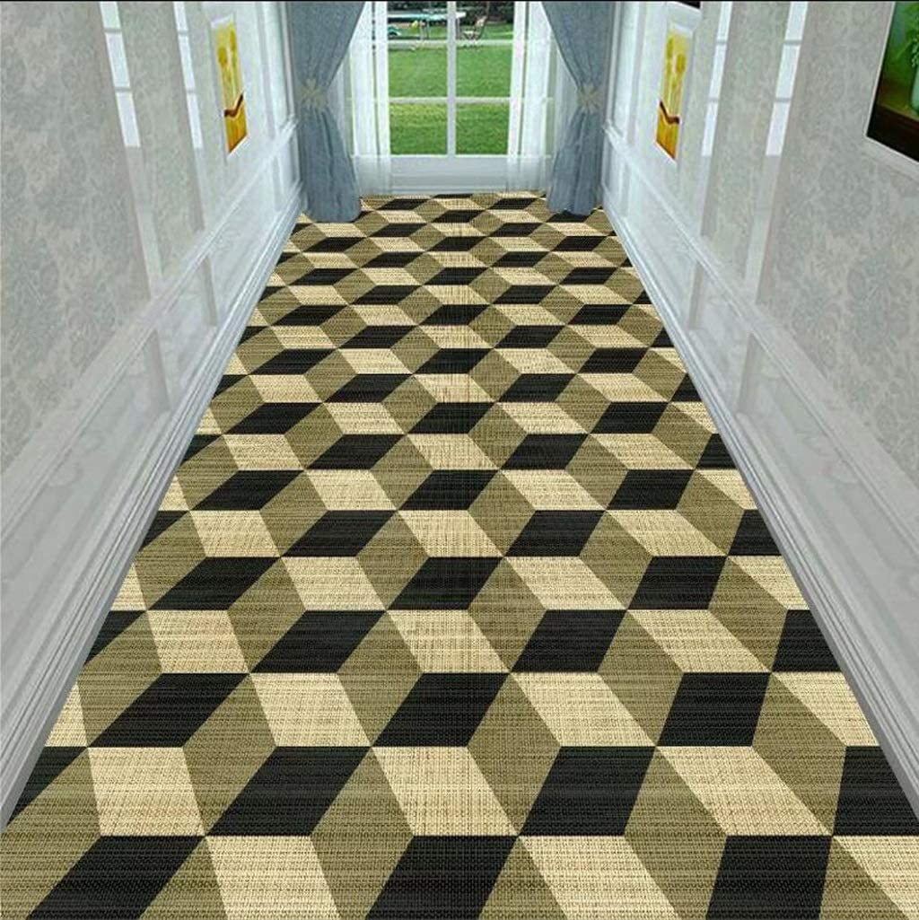 Color : A, Size : 1.64m Full Shop can be Customized AO-Entrance Corridor Carpet Nordic Living Room Coffee Table mats Commercial Hotel Corridor Aisle mat