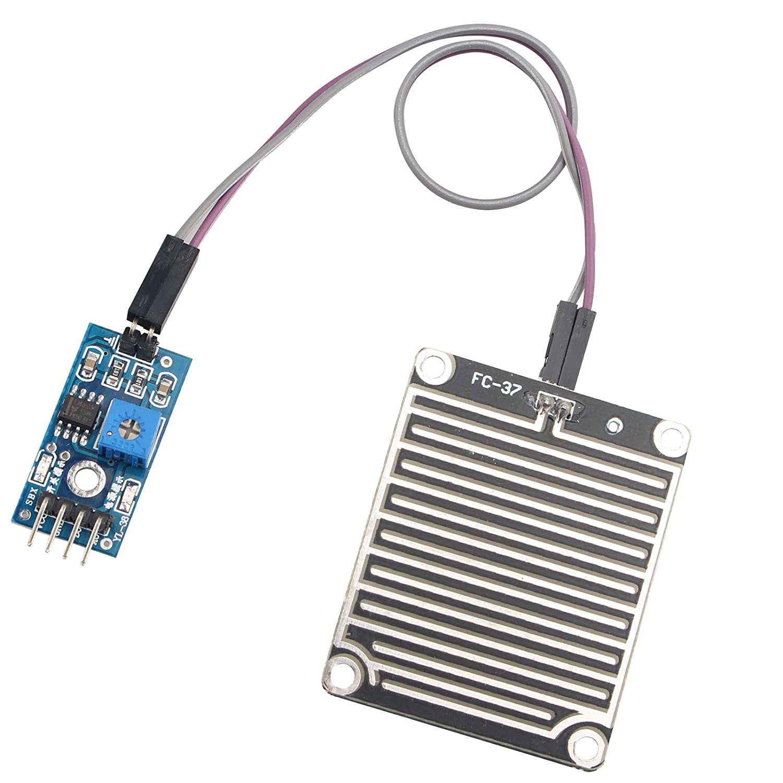 compatible Arduino Haljia Capteur de pluie gouttelettes humidit/é station m/ét/éo