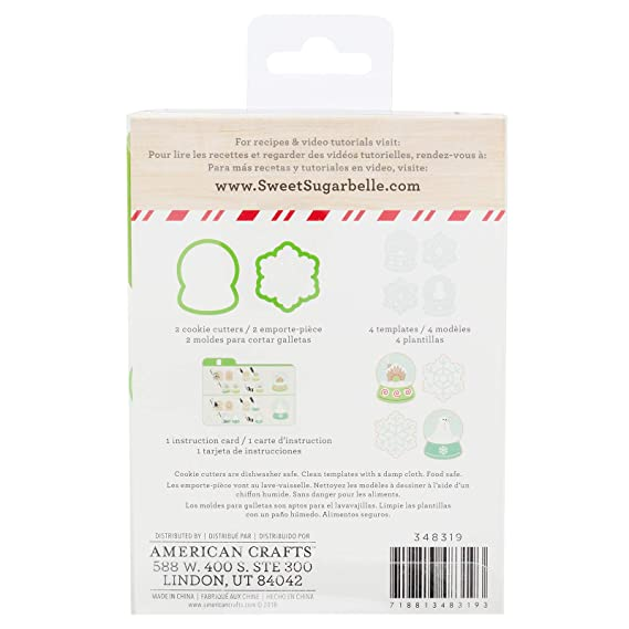 Amazon.com: Sweet Sugarbelle 348319 Snow Globe Cookie Cutter, Mutli: Arts, Crafts & Sewing